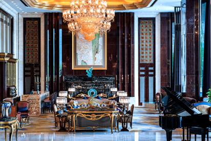 武汉万达瑞华酒店大堂酒廊