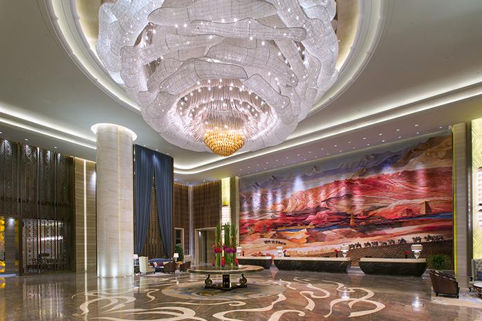 兰州万达文华酒店酒店大堂