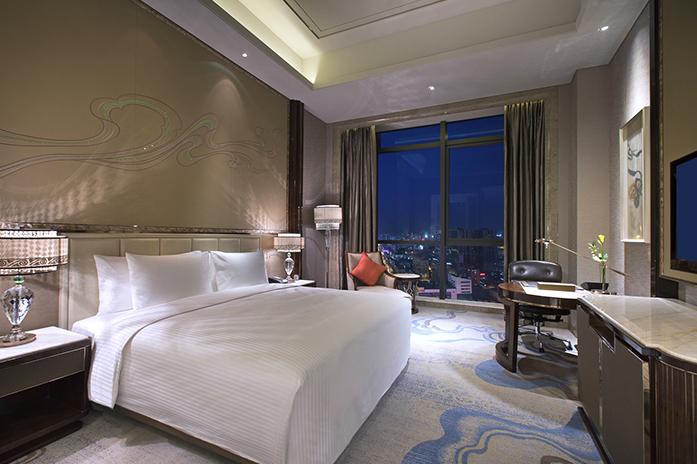 兰州富力万达文华酒店豪华大床房