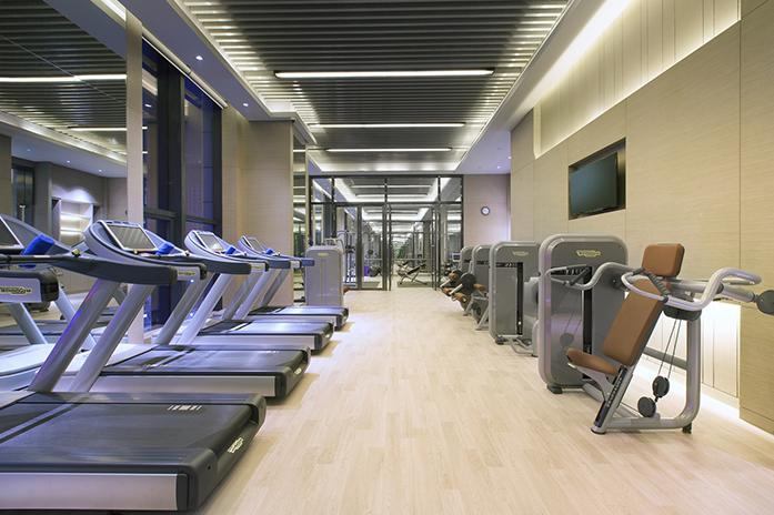 兰州富力万达文华酒店健身中心