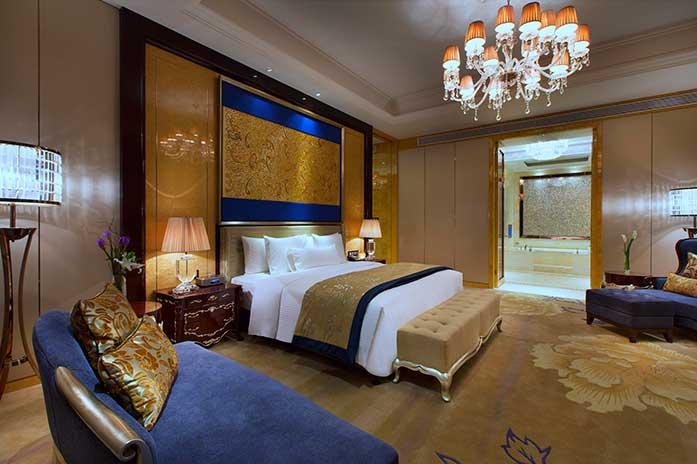 长沙万达文华酒店董事套房
