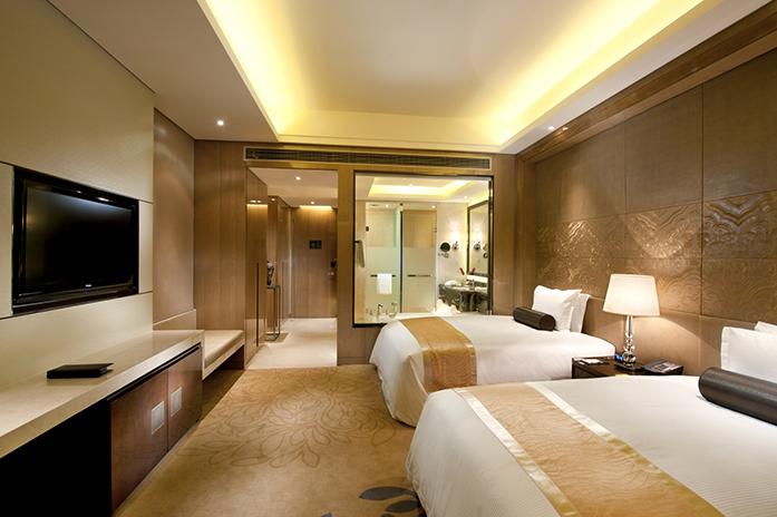 廊坊万达嘉华酒店豪华双床房