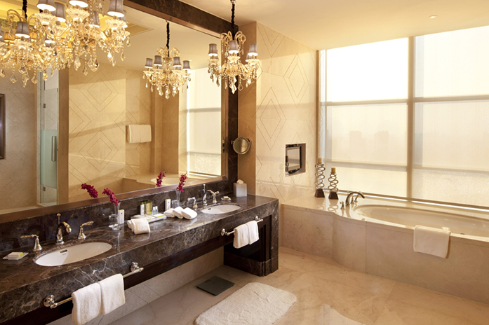 客房|总统套房卫生间
