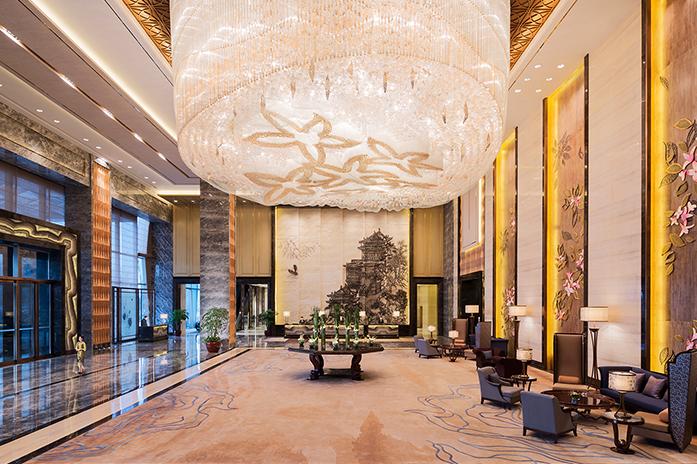 南昌万达嘉华酒店酒店大堂