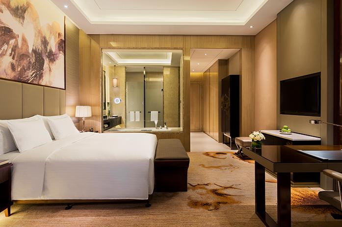 南昌万达嘉华酒店高级豪华大床房