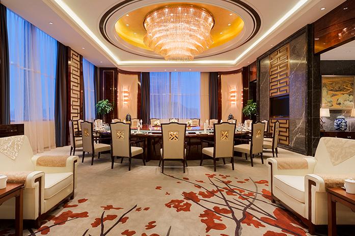 南昌万达嘉华酒店中餐厅包房万达厅