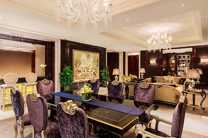 南京万达嘉华酒店总统套房客厅