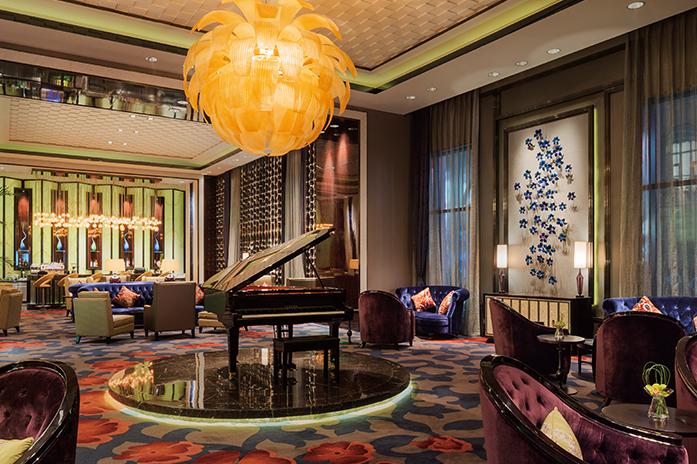 南京万达嘉华酒店大堂酒廊