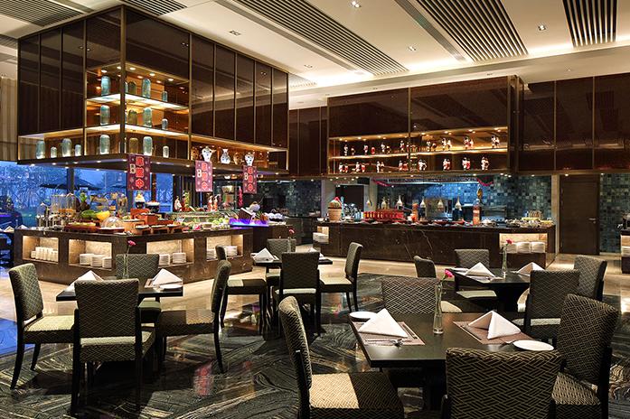 内江万达嘉华酒店美食汇餐厅