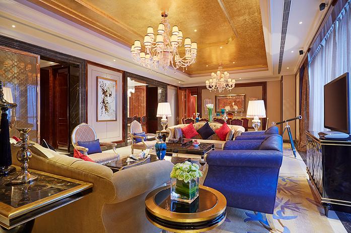 客房|总统套房客厅