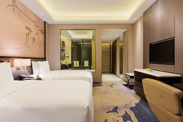 客房|豪华双床房