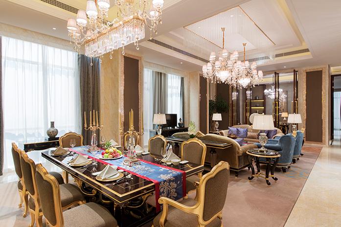 金华万达嘉华酒店总统套房客厅