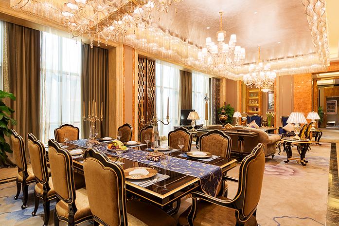 龙岩万达嘉华酒店总统套房客厅