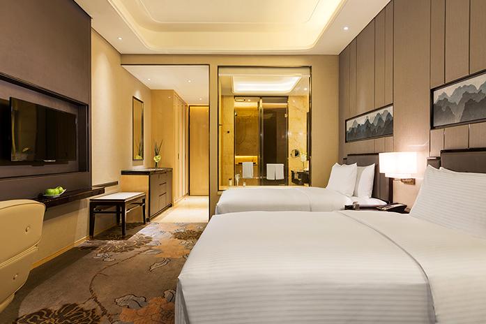 龙岩万达嘉华酒店高级豪华双床房