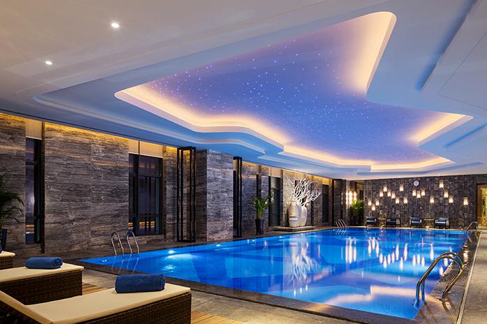 龙岩万达嘉华酒店恒温泳池