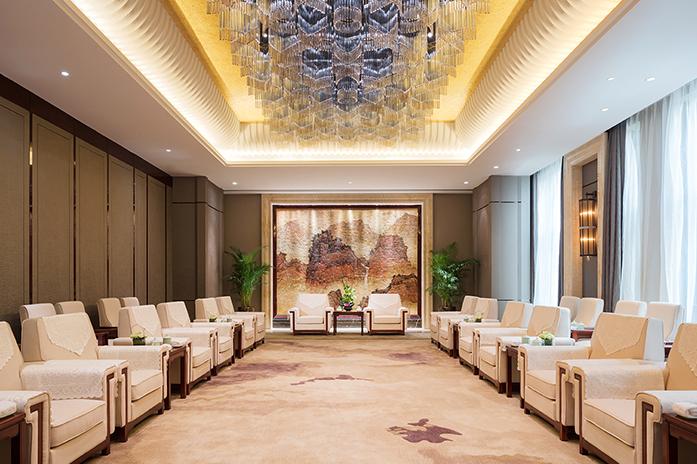 龙岩万达嘉华酒店VIP会议厅