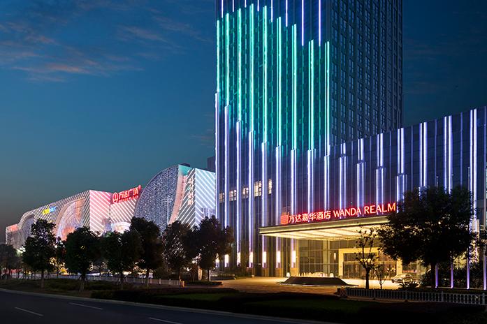 外观|酒店夜景