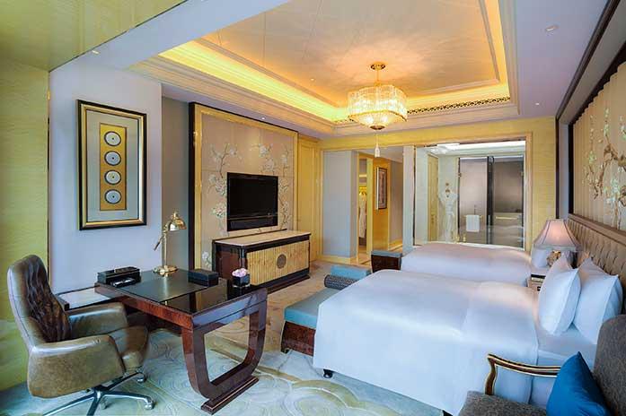 武汉万达瑞华酒店豪华双床房