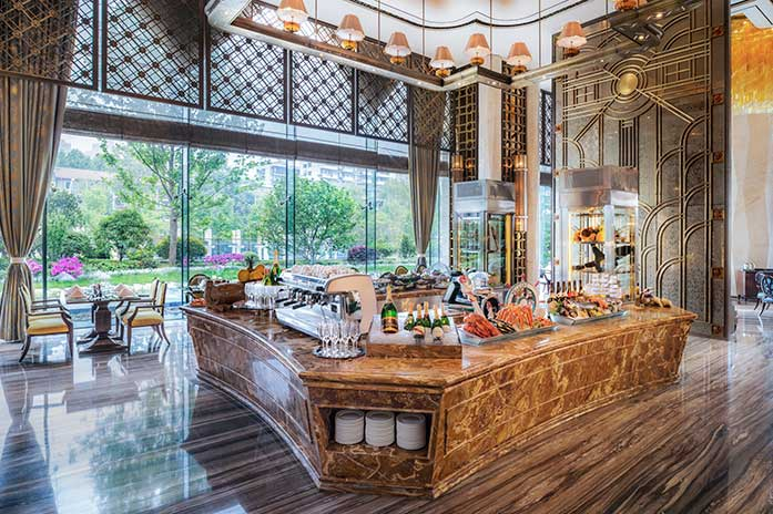 武汉万达瑞华酒店美食汇