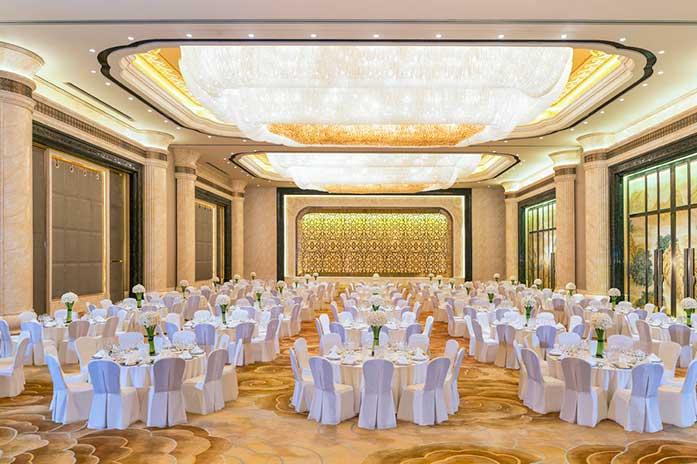 武汉万达瑞华酒店大宴会厅婚宴